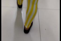 Transparent get hold of leggings 97