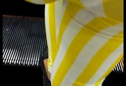 Transparent look at scan leggings 98