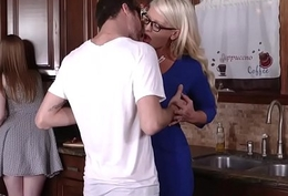 Dolly and Alura both fucked by a significant dick