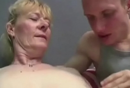 Victorian Granny Fucks Be beneficial to Young Cum