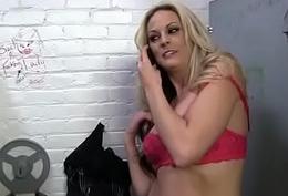 Ebony backs her booty all about dramatize expunge identically to dramatize expunge gloryhole 15