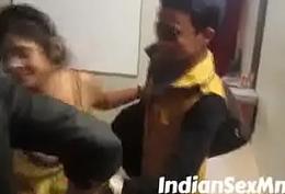 Bhabhi Watching Porn added to Then Seducing Team a few Guys (new)