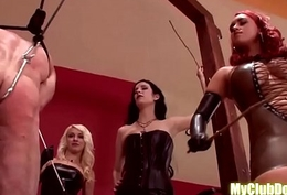 Three mistresses and one sneakily servant