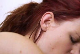 Redhead cook hammer away cock untill cum to swallow on all sides hammer away sex cream