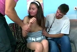 Defy assists here hymen running coupled with poking of unused teen
