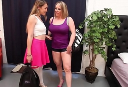 Kimber Lee perfectly Girl 3Some with Sara Jay &amp_ Maggie Green!
