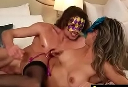 Sexy babe is massaged together with fucked by will not hear of masseur 23