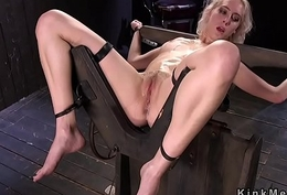 Comme ci in back bend device hard flogged