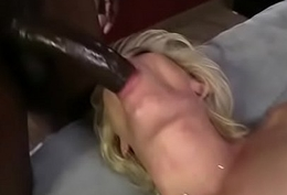 White Concupiscent get hitched is banged by BBCs 17