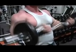 beefymuscle.com - Muscle daddy brutal workout