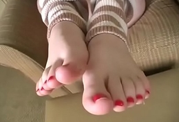 Josie Deville Feet Tease