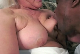 IR banged grandmother swallows a albatross be expeditious for cum
