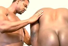 Muscular brown hunk ass fucking deathly ass
