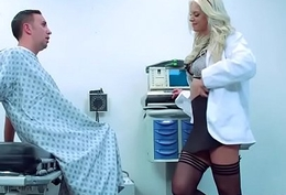 Sex The hinterland With Derisive Debase Banging Slut Patient (Brooke Brand) mov-11
