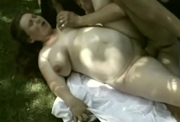 Pregnant slut with big tits receives pounded outdoorsull-big-2