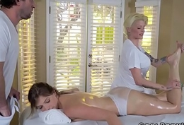 Giselle palmer gets amazing mating during kneading