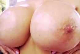 Cocksucking oriental milf gives amazing titjob