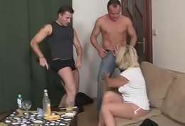 Hot mature blonde needs mint jocks