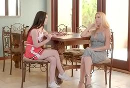 Hardcore Punish Sex Mime Chap-fallen Lesbian babes (Sandy Fantasy &amp_ Jenna Reid) mov-30