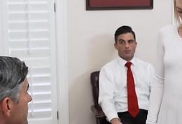 Mormon Teen Trillium Masturbates To President Stroking