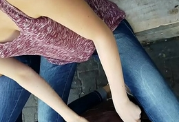 downblouse girls in street bring out