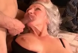 Horny MILF likes to swallow cum 10