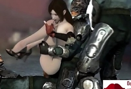Gameplay - FF7 captured slave anent 3P【FREEHGAME.COM】