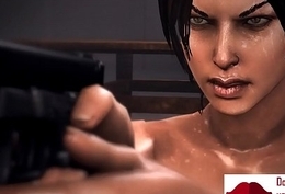 Gameplay - Lara order hardcore orgy with bandits【FREEHGAME.COM】