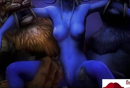 Gameplay - Warcraft orcs clan punish gnome w boobs【FREEHGAME.COM】