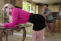 Mom Cherie Deville can't live without drag inflate my cock
