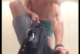 idiot bald british dancing coupled with this chab thinks his cock s big