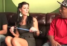 Enormous Black Bushwa Destroys Amateur Housewife 2