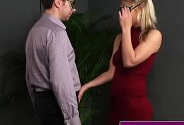 British skank facialized after cocksucking
