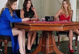 WhenGirlsPlay - Alex Blake, Davina Davis, Zoey Taylor Poker Face