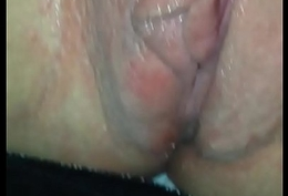 Front denote seat hot wife getting her wringing wet love tunnel fingered