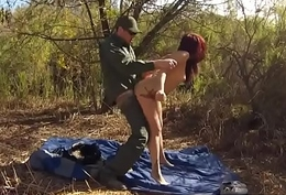 Tattooed blonde anal hd Oficer of patrol acquiesces approximately help redhaired
