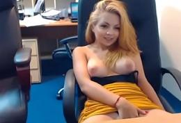 Unpretentious beauty be useful to emmafantasy21 on cam. Office role game scene. Unpretentious tits.