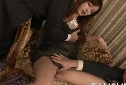 Sexy asian'_s lusty group sex