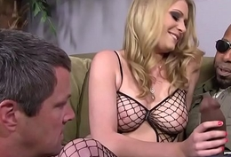 BBC Slut Allie James Humiliates Cuckold With Shane Diesel
