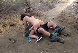 Police woman restrict Kayla West was blocked lusty patrool during border