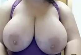 BUSTY HUGE TIT CURVY MILF TEASES Broad in the beam TI.more on http://www.allanalpass.com/CMQ95