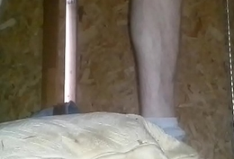 11 1/2 inches of dildo, pool stick and gas can in ass