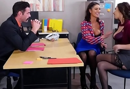 August Ames &amp_ Ashley Adams Trio FULL VIDEO @ goo.gl/QBgm2e