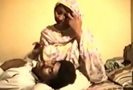 Shy Desi Aunty Reluctantly Fucks on Video be required of Rupees