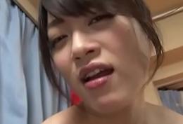 Subtitled POV Japanese lewd inclusive striptease Akari Hoshino