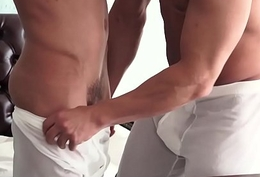 MormonBoyz- Muscle boy cums while being screwed bareback