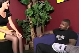 Huge Black Flannel Destroys Bush-leaguer Housewife 5