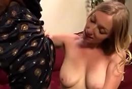 Huge Black Cock Destroys Amateur Housewife 25