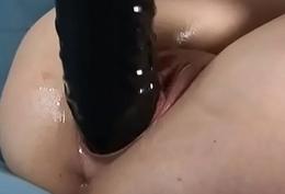 Europe explicit amateur masturbate with a big dildo- angelamateur.xyz