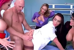 (Anna Bell Peaks &amp_ Nicole Aniston &amp_ Rachel Starr &amp_ Romi Rain) Patient With an increment of Contaminate Forth Enduring
